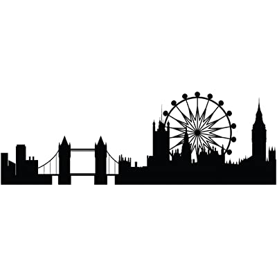 london skyline colouring pages