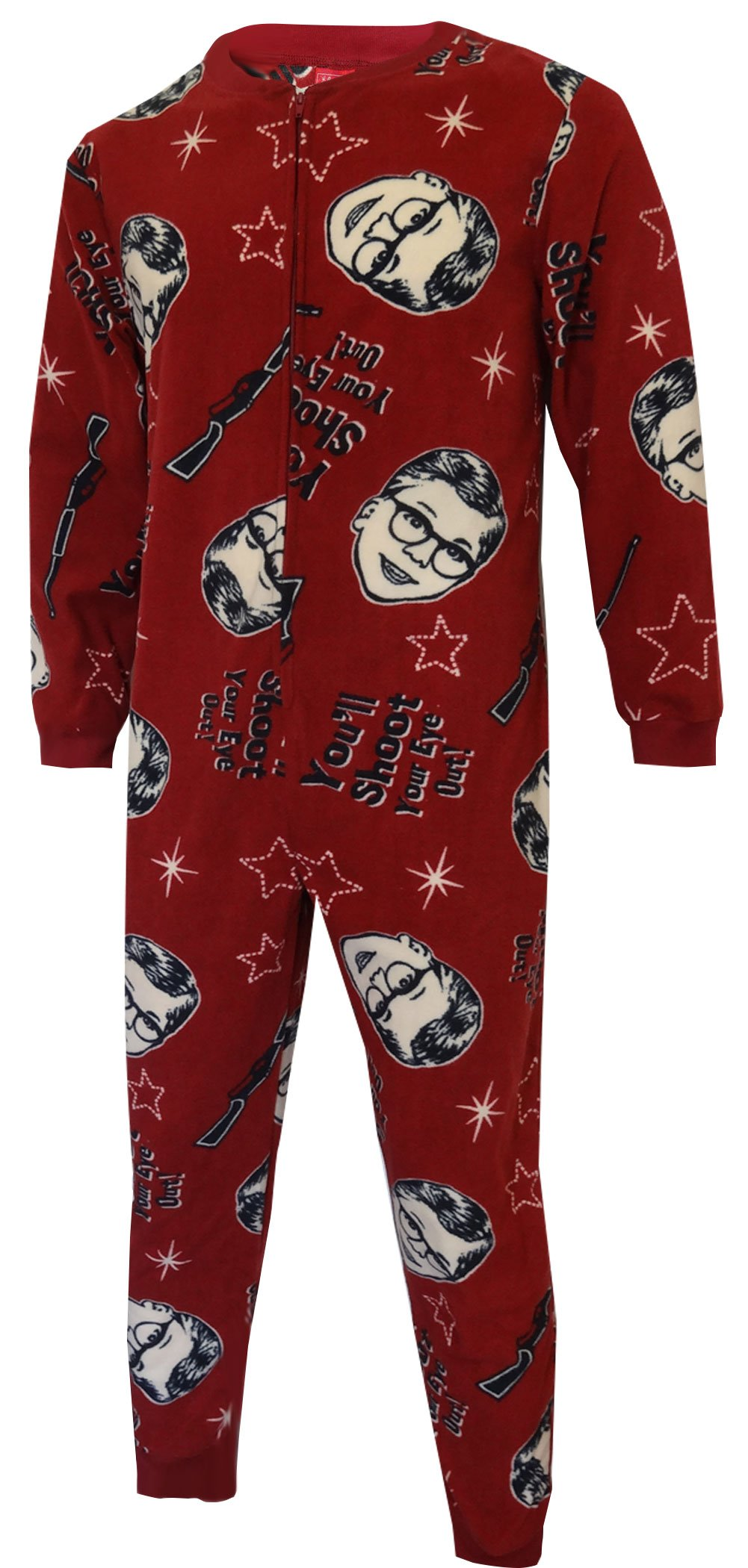 A Christmas Story Shoot Your Eye Out Union Suit Pajama for menA Christmas Story Shoot Your Eye Out Union Suit Pajama for men