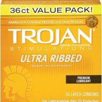 Trojan Ultra Ribbed Ecstasy