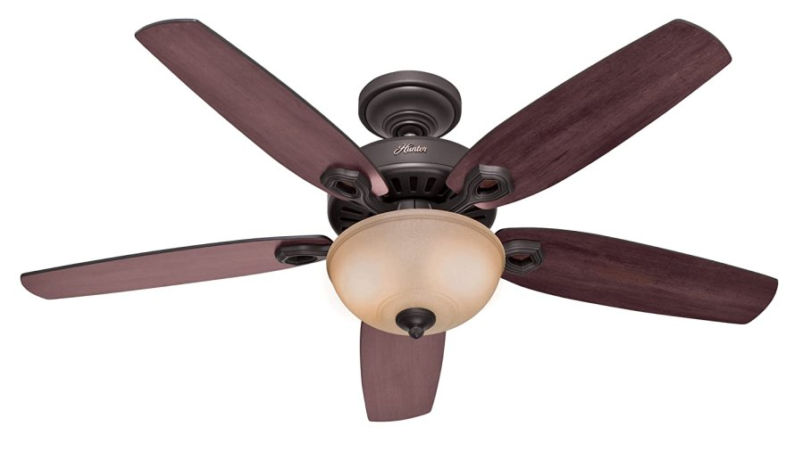 Best Ceiling Fans With Lights Reviews   Keep Cool With The Top Brands Hunter 21810 Builder Deluxe