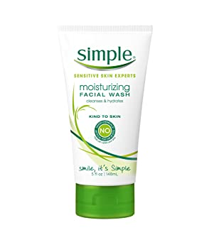 Simple Facial Wash, Moisturizing 5 oz