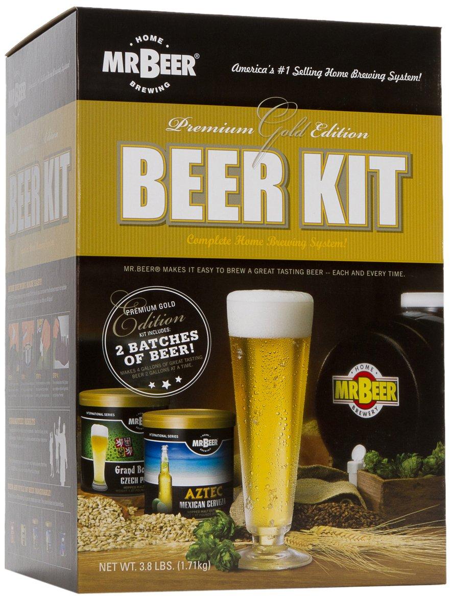 Mr. Beer Kit home brewing setup kit