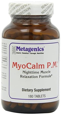 Metagenics, MyoCalm P.M., 180 Tablets
