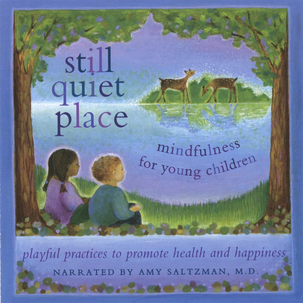 Still Quiet Place:Mindfulness for young children; playfu practices to promote health and happiness; audio mp3 & cd by Amy Saltzman, MD