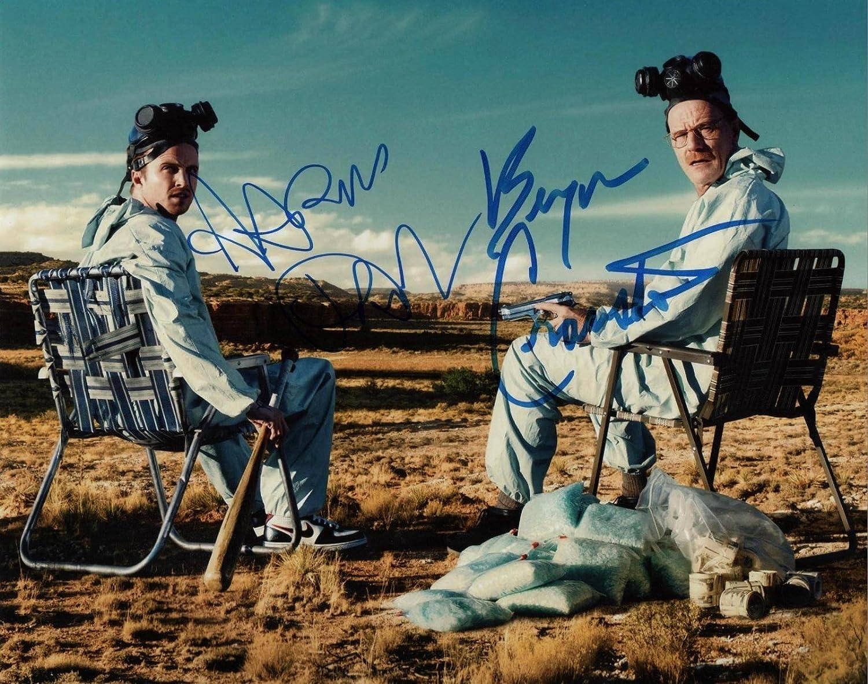 Breaking Bad cast 8x10 reprint signed photo #2 RP Cranston Paul