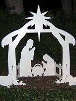 Christmas Outdoor Yard Nativity Scene