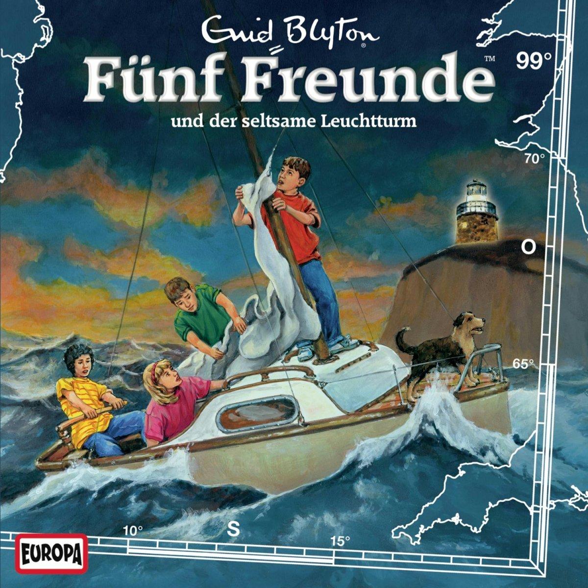 Fünf Freunde (99) - und der seltsame Leuchtturm (Europa)