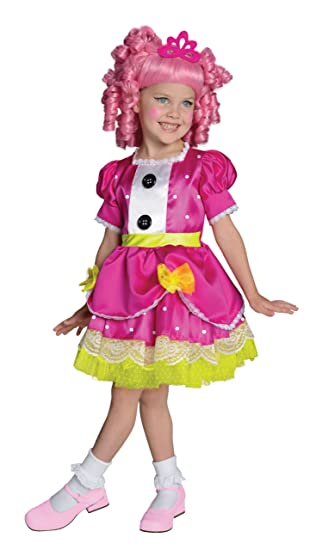 Lalaloopsy Deluxe Jewel Sparkles Costume, Medium
