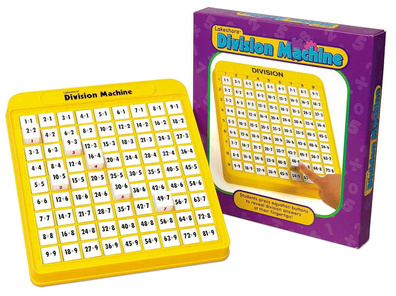 Division Practice Math Machine