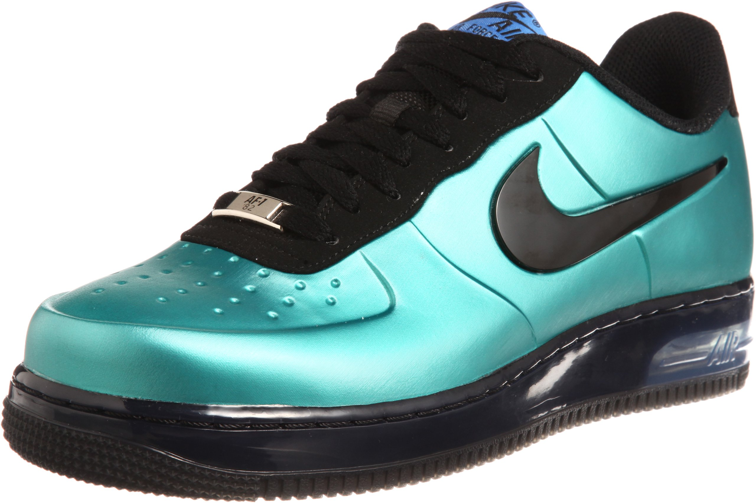 Nike Men's Air Force 1 Foamposite Pro Low, Foamposite-NEW GREEN/BLACK