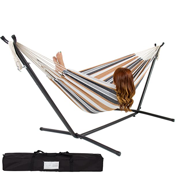 Best Choice Products Double Hammock with Space Saving Steel Stand Review