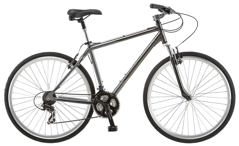 Schwinn Capital 700c Men's Hybrid Bicycle, Medium frame size, grey