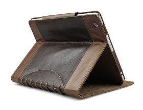 Bear Motion Luxury 100 Percent Genuine Top Layer Buffalo Hide Vintage Leather Case for iPad 2 / iPad 3/ the new iPad / iPad 4 (the lastest version) -Vintage Brown