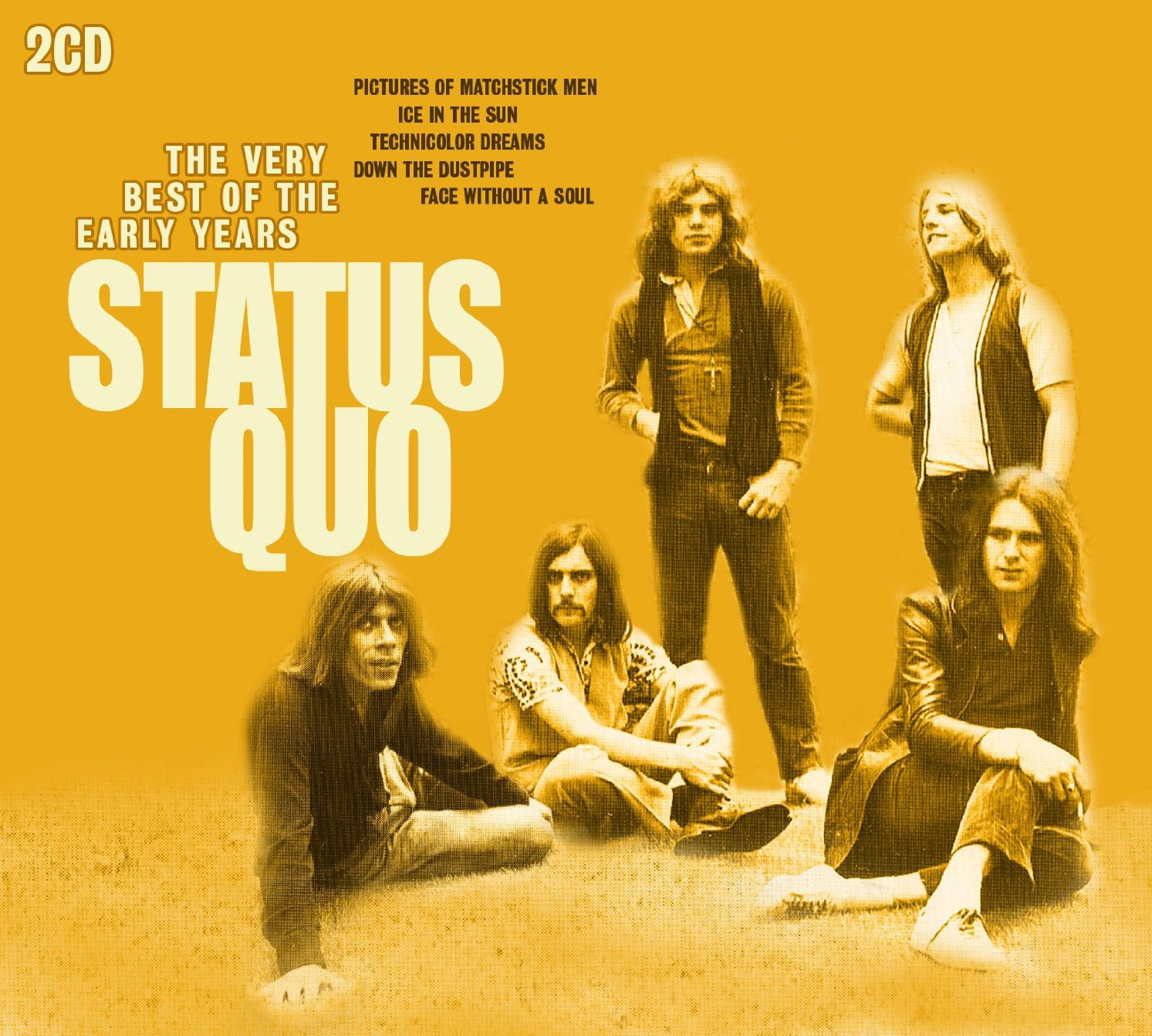 STATUS QUO The Very Best Of The Early Years