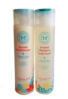 The Honest Company Shampoo & Conditioner Set, 8.5 oz bottles
