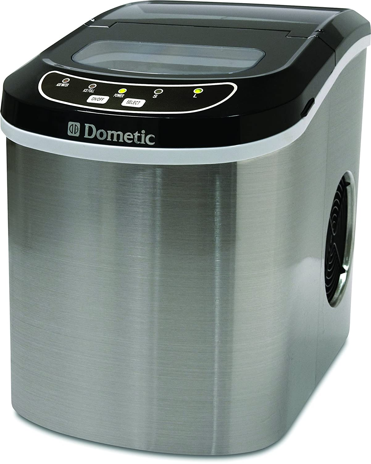 Amazon.com : Dometic HZB-12SA Compact Portable Ice Maker Chris is addicted to ice.. so when we're setup somewhere in our RV, we love having a portable ice maker. Dometic gifted us this one.