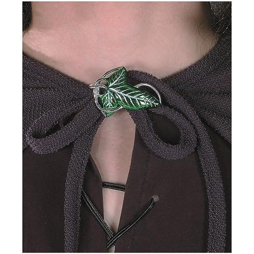 Elven Cloak Leaf Clasp Costume Accessory