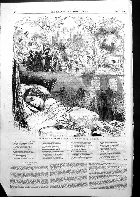 """""""A Dream of Twelfth Night,"""" by George Thomas"""