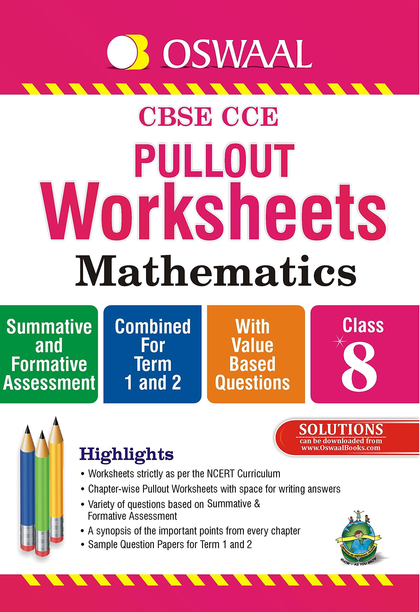 Class 8 Maths Worksheets Cbse