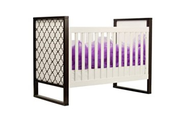 Twinkle 3-in-1 Crib in Two Tone, Espresso and White