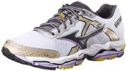Mizuno Women's Wave Enigma 4  Running Shoe, White/Black, 6.5 M US
