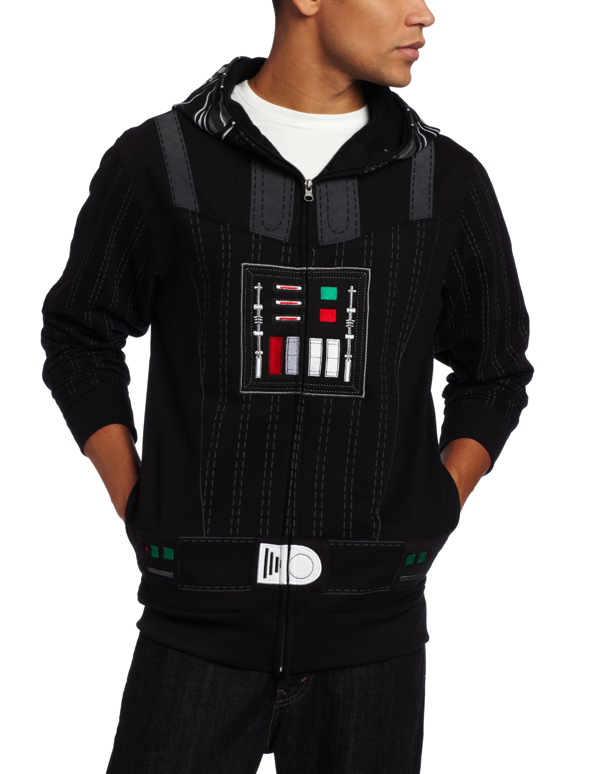 Star Wars Men's Sith Full Face Fleece Hoodie