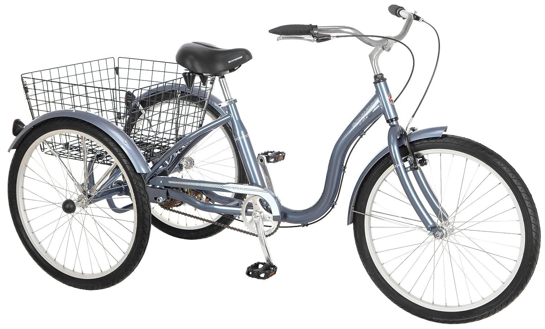 """Schwinn 24"""" Wheel Meridian Adult Tricycle"""