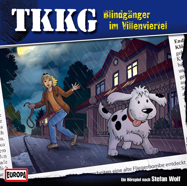 TKKG (183) Blindgänger im Villenviertel (Europa)