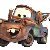 Disney Pixar Cars Mater Peel & Stick Giant Wall Decal