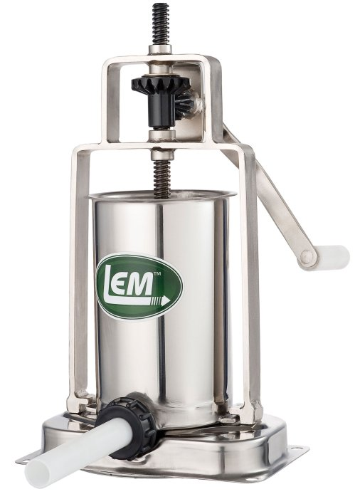 LEM Products 5lb Stainless Steel Vertical Sausage Stuffer