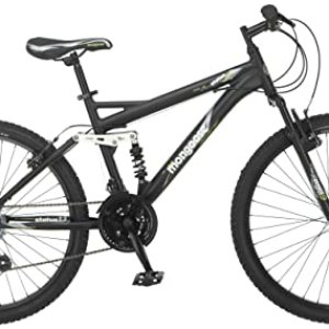 Mongoose Men's Status 2.2 Full Suspension Bicycle REVIEW