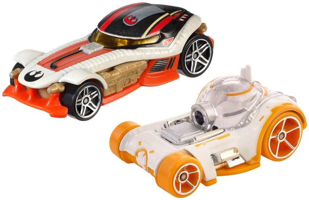 Poe Dameron BB-8 Hot Wheels