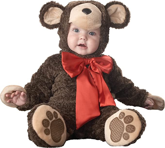 InCharacter Costumes Baby's Lil' Teddy Bear Costume, Brown, Medium