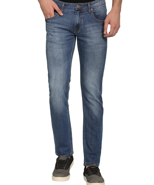 abof Men Blue Slim Fit Jeans