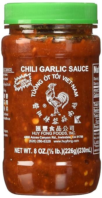 Huy Fong Vietnamese Chili Garlic Sauce, 8 Oz