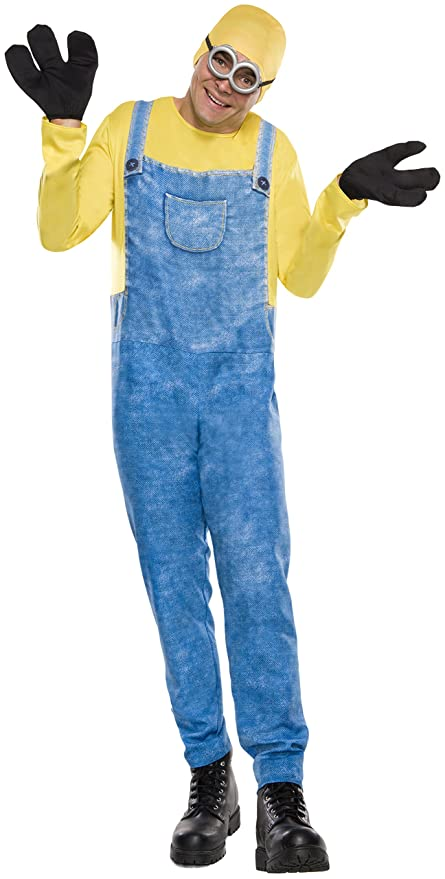 Rubie's Costume Co Men's Minion Bob Costume, Multi, Standard