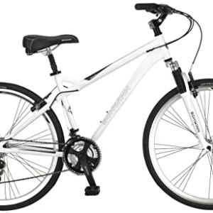 Schwinn Men's Network 3.0 700C Hybrid Bicycle, White, 18-Inch Review