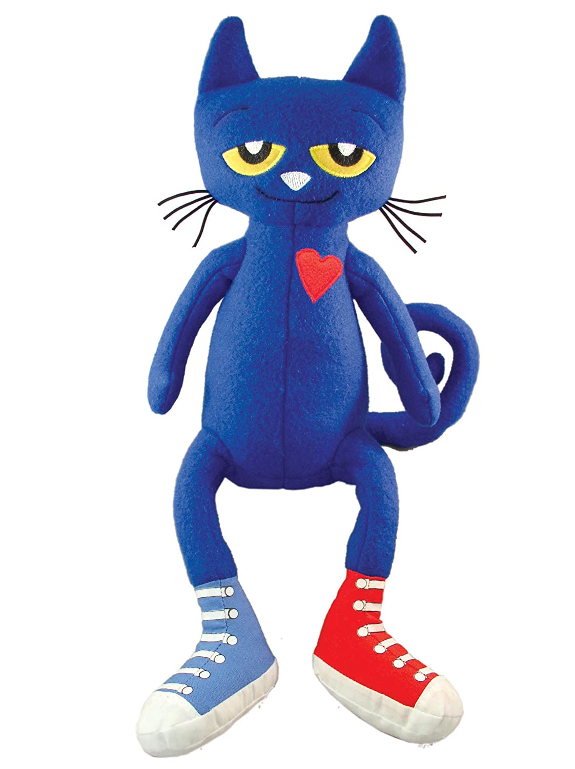 Describe The Pictures In Pete The Cat Rocking In My School