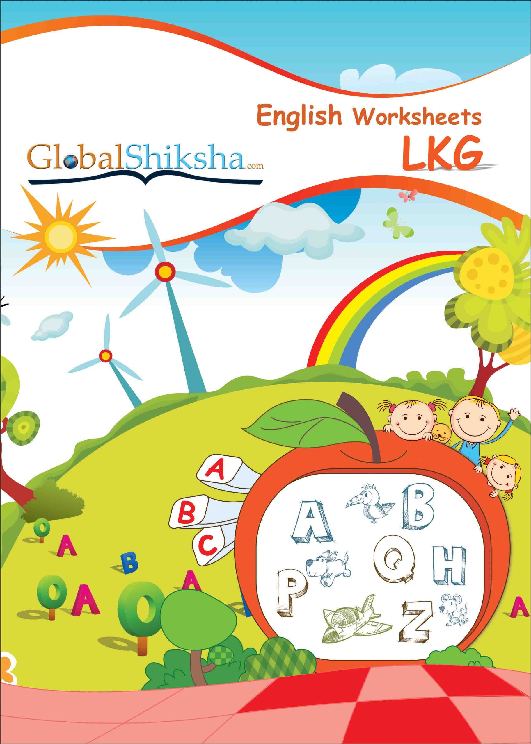 Worksheet For Kg2 English