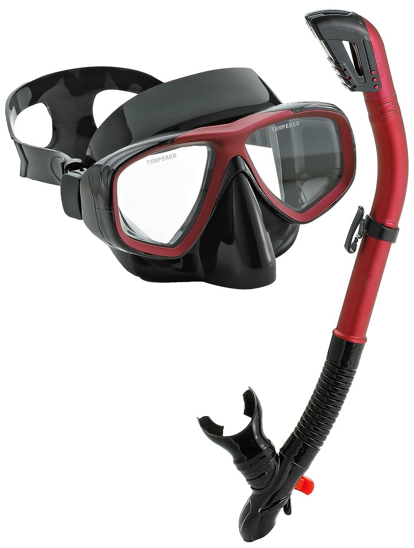 Aqualung Sport Snorkeling Scuba Dive Dry Snorkel Purge