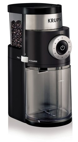 KRUPS GX5000 Professional Electric Coffee Burr Grinder