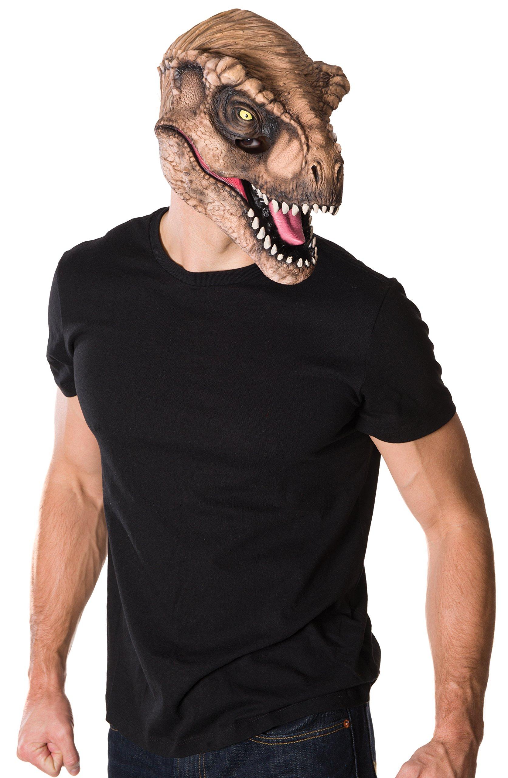 Men's Jurassic World T-Rex 3/4 Mask
