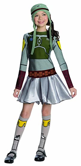 Star Wars Boba Fett Costume Dress, Large