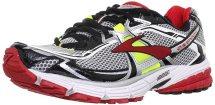 Brooks Mens Ravenna 4 Lava/Nghtlife/Slvr/Black/White Running Shoes US 10