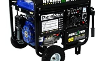duromax elite mx and mxe watt portable generator duromax xp10000eh dual fuel hybrid portable generator review