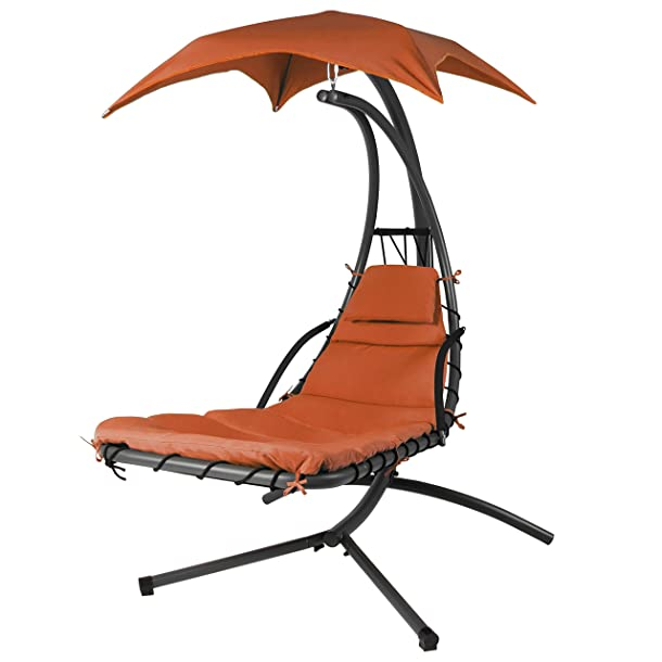 Best Choice Products Hammock Chair Stand - Hanging Chaise Lounger Review