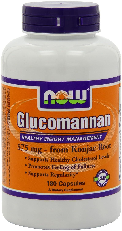NOW Glucomannan Fiber Konjac Root Pill