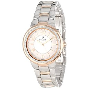 Bulova Women's 98R162 Diamond Case Watch