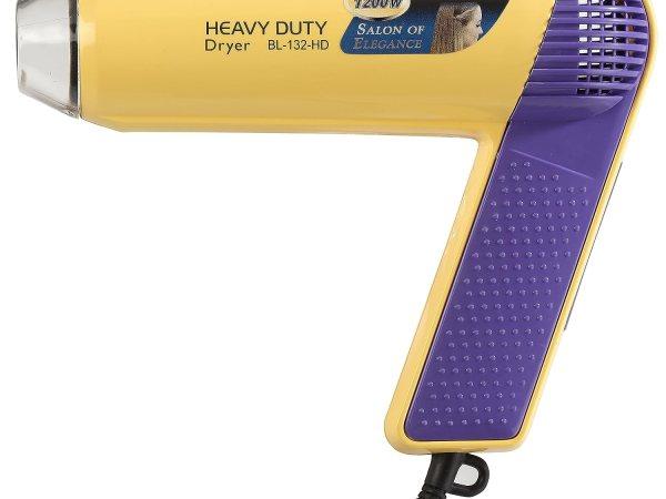 Ozomax Heavy Duty Hair Dryer (White/Purple)