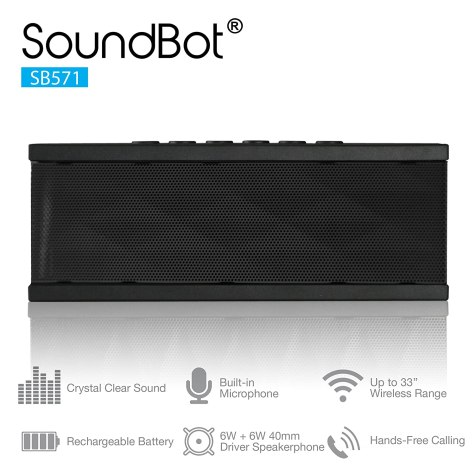 SoundBot SB571 Bluetooth Wireless Speaker At ₹ 1499 Only - Amazon